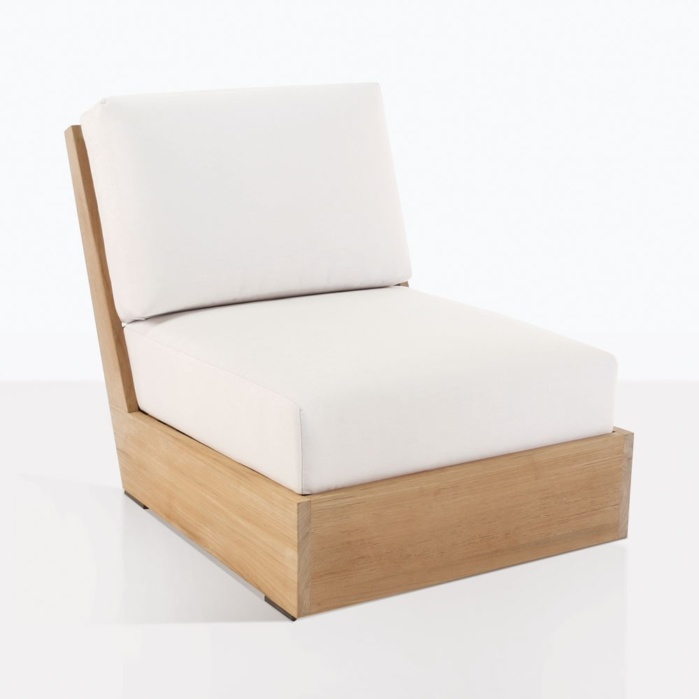 Kuba Center Sectional Chair WIthout Arms