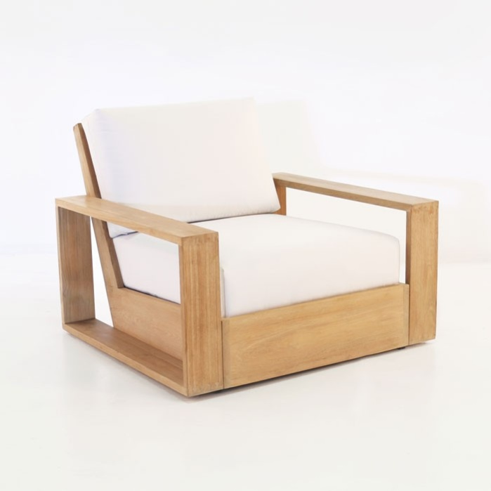 Kuba Teak Outdoor Club Chair 0