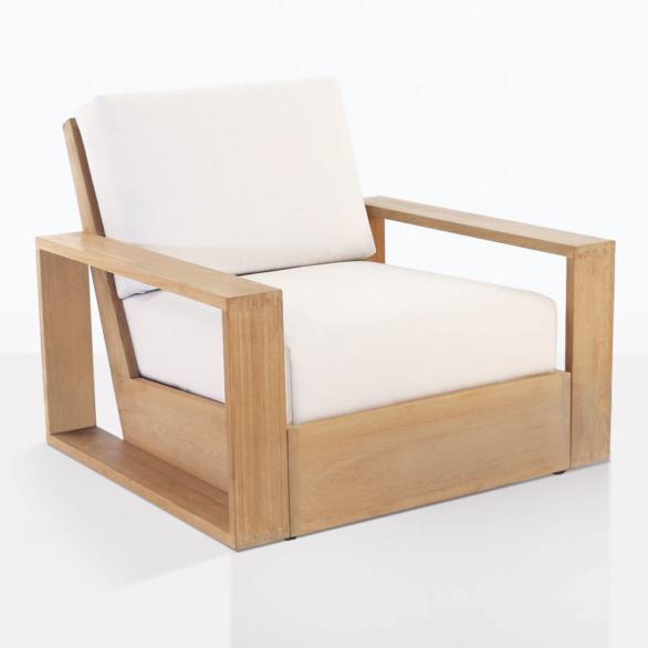 Kuba Teak Club Chair With Cushions