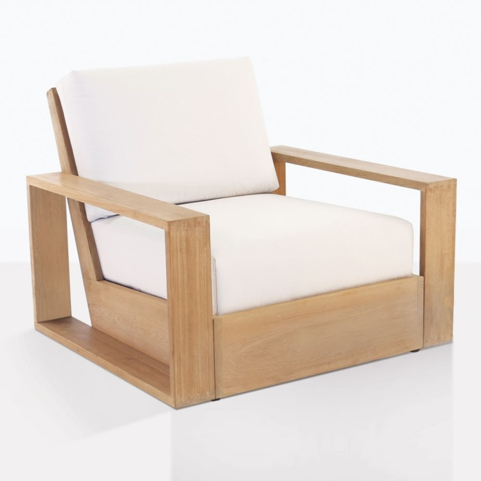 Kuba Teak Club Chair With Cushions