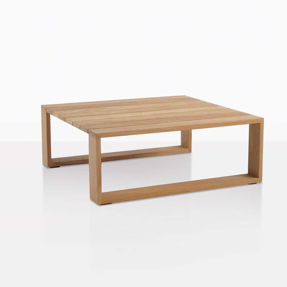 Kuba Teak Outdoor Coffee Table Deep Seating Patio Lounge