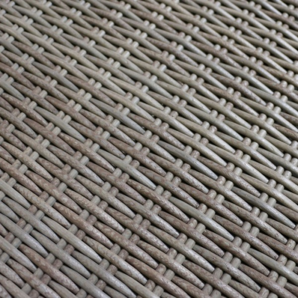 kubu brown wicker closeup