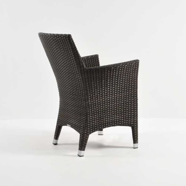 Luigi Wicker Dining Arm Chair (Java)-3767