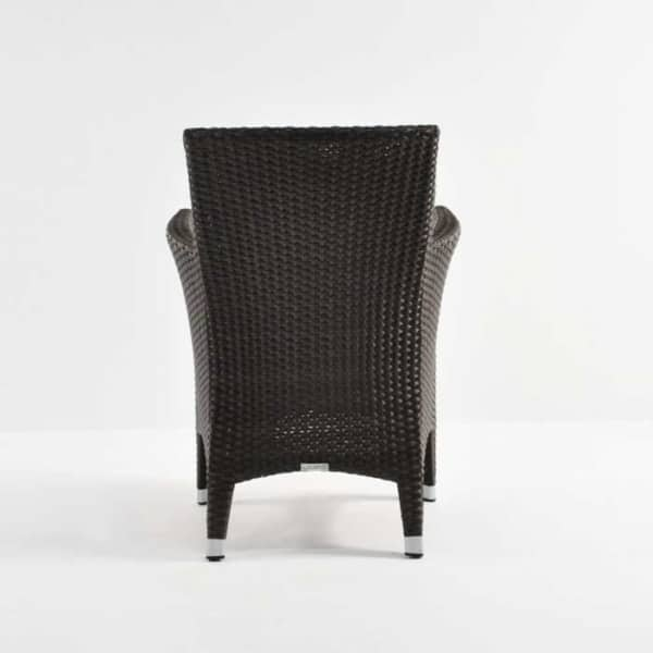 Luigi Wicker Dining Arm Chair (Java)-3765