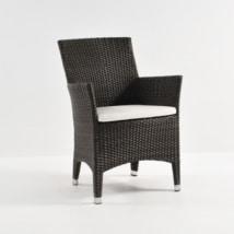 Luigi Wicker Dining Arm Chair (Java)-0