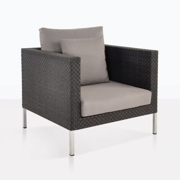 Madison Wicker Club Chair With Cushions