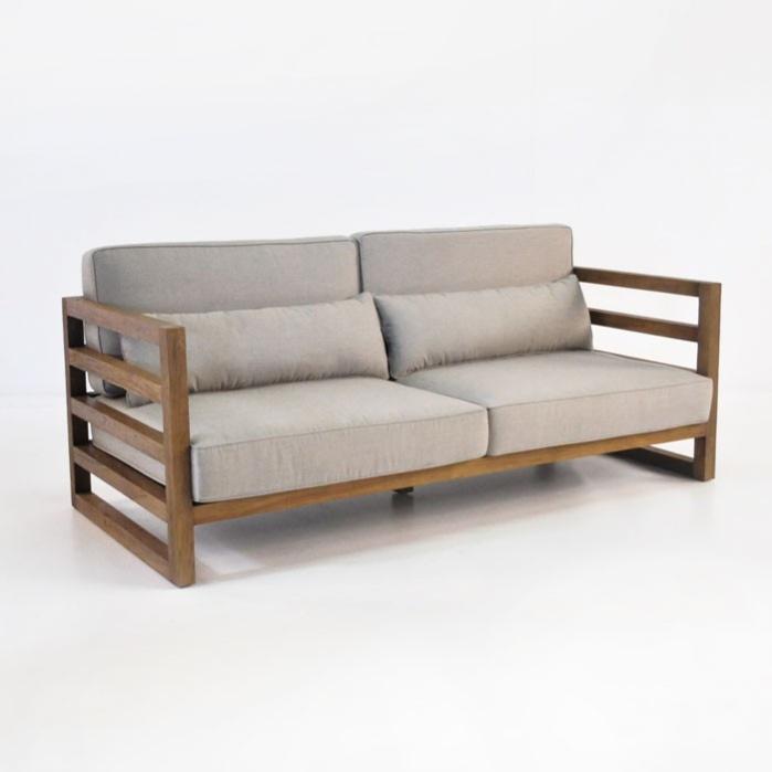 Manhattan Reclaimed Teak Outdoor Sofa Patio Couch Teak Warehouse