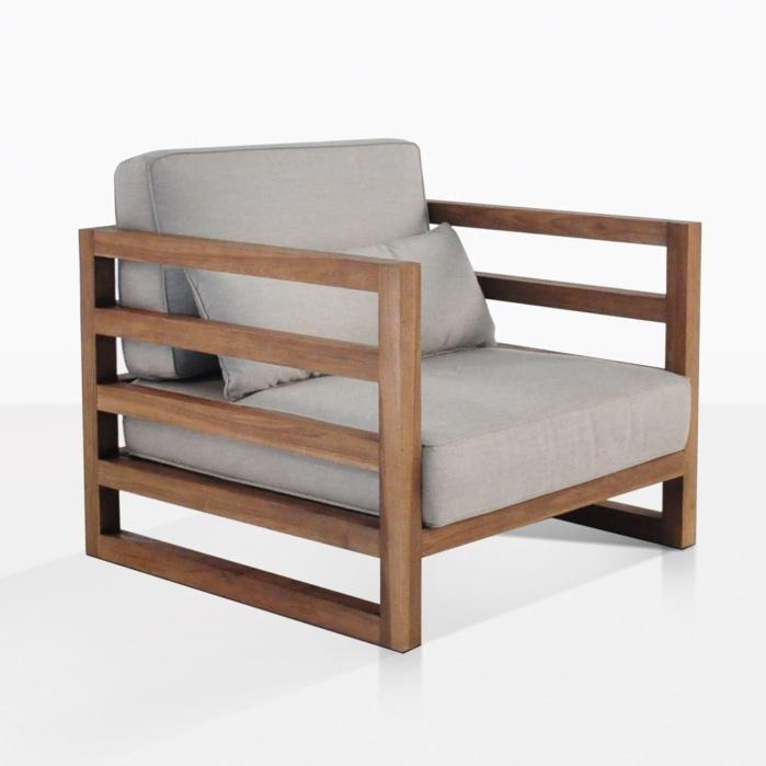 Manhattan Reclaimed Teak Club Chair