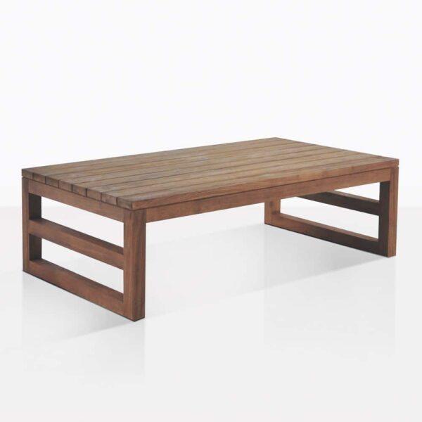 Manhattan Teak Rectangular Coffee Table
