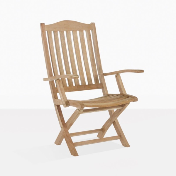 Marina Classic Teak Folding Dining Chair