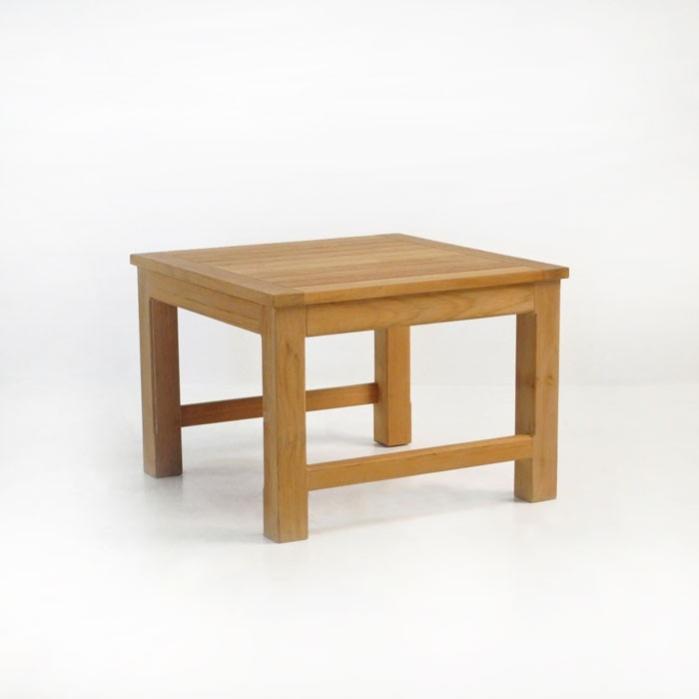 Monterey Teak Outdoor Side Table-0