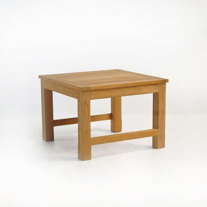 monterey teak side table patio furniture teak warehouse. Black Bedroom Furniture Sets. Home Design Ideas