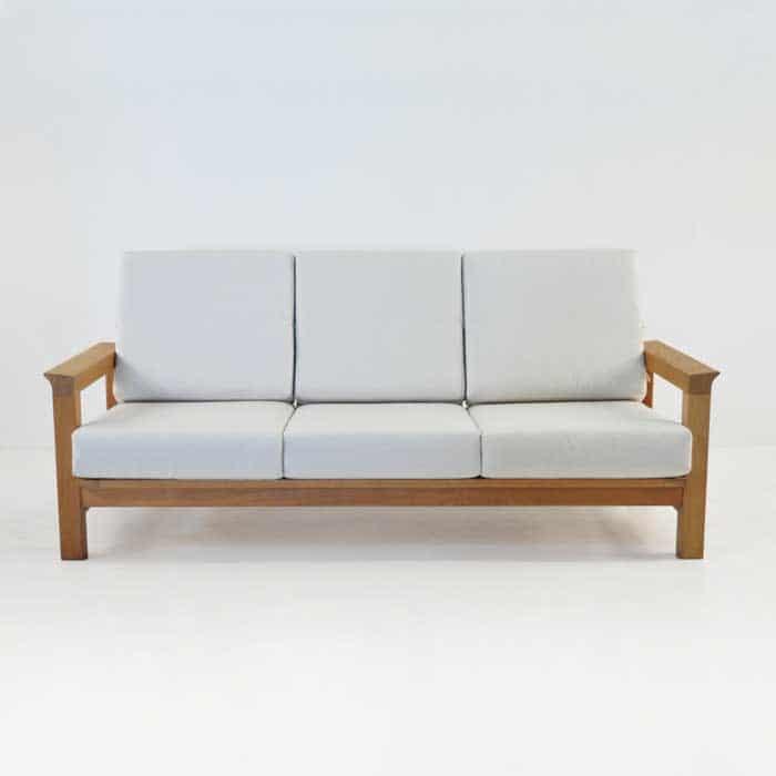 Monterey Teak Outdoor Sofa Patio Lounge Furniture Teak Warehouse