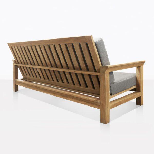 Monterey Teak 3 Seat Outdoor Sofa Back