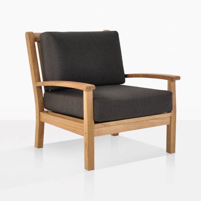 Naples Classic Teak Outdoor Lounge Chair