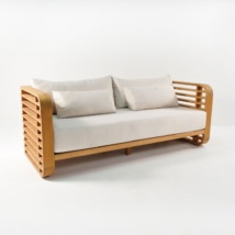Ocean Teak Outdoor Sofa-0