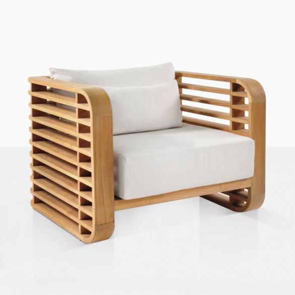 Ocean Teak Extra Large Club Chair