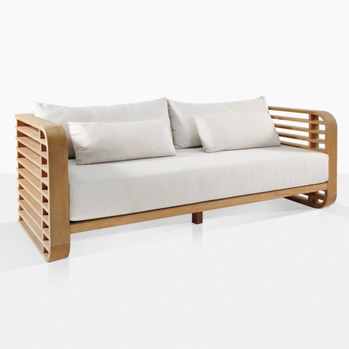Ocean Teak Sofa With Cushions