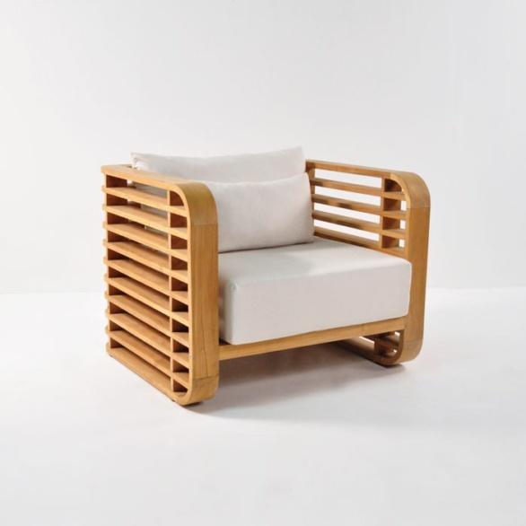 Ocean Teak Outdoor Club Chair-0
