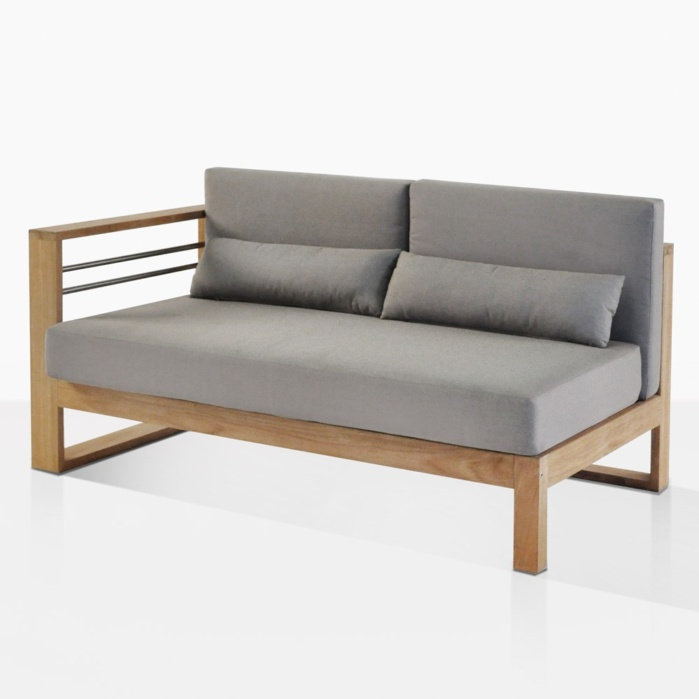 Pacific Right Arm Sectional Daybed