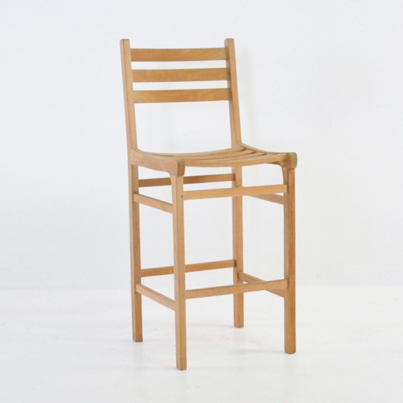 pager teak bar chair
