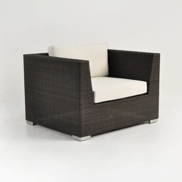 Paulo Outdoor Wicker Club Chair (Java)-0