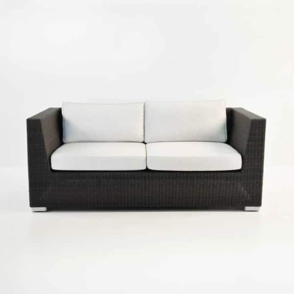 paulo java wicker loveseat front