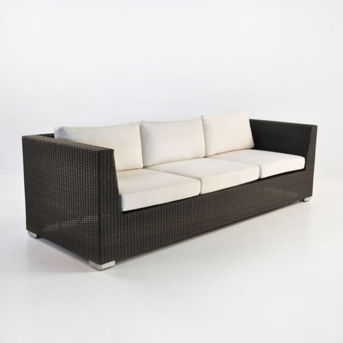 Paulo Outdoor Wicker Sofa (Java)-0
