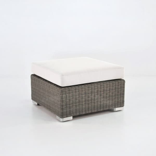 Paulo Outdoor Wicker Ottoman (Kubu)-0