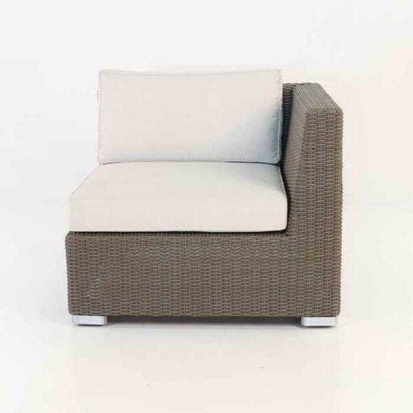 brown wicker relaxing chair