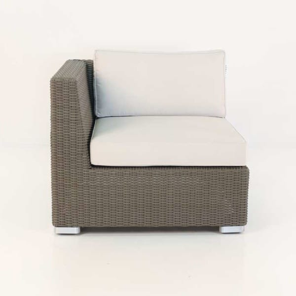 patio wicker arm chair