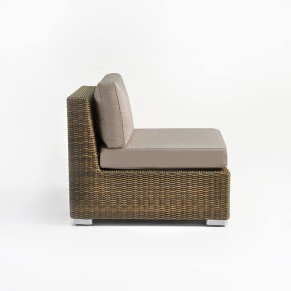 wicker sectional center unti