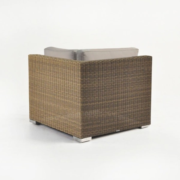 wicker sectional corner unit