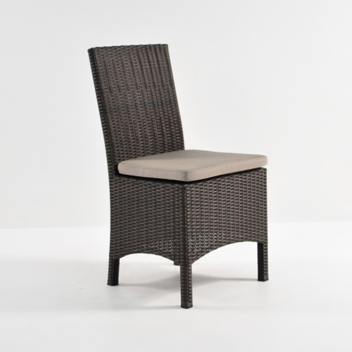 Petra Wicker Dining Side Chair (Java)-0