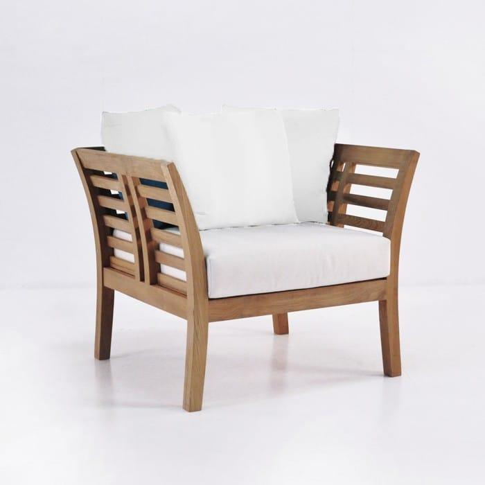 Plantation Teak Outdoor Club Chair | Patio Furniture | Teak Warehouse