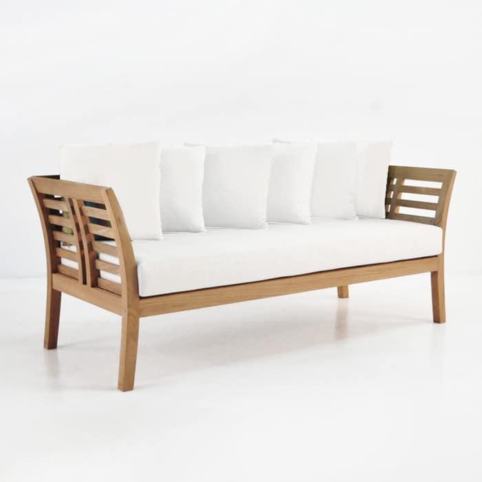 Plantation Teak Outdoor Sofa Patio Lounge Furniture Teak Warehouse