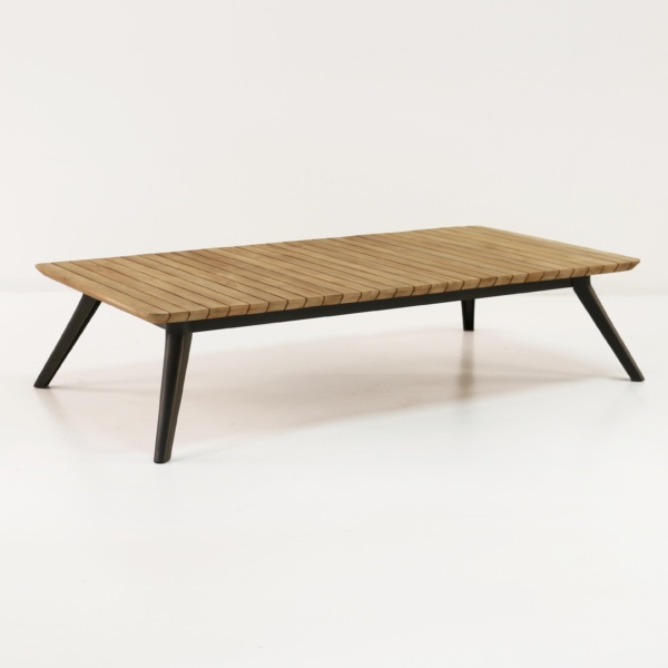 Platform Reclaimed Teak Coffee Table-0