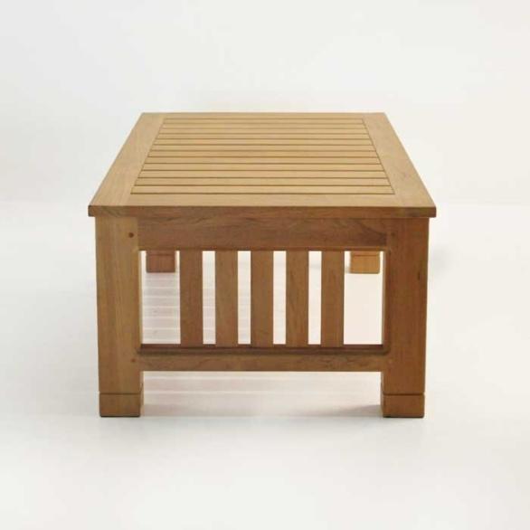 raffles teak large coffee table patio furniture teak. Black Bedroom Furniture Sets. Home Design Ideas