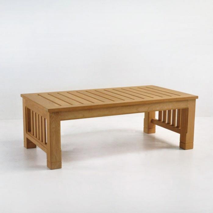 Raffles Teak Large Coffee Table Patio Furniture Teak