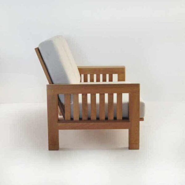 Patio furniture - raffles loveseat side view