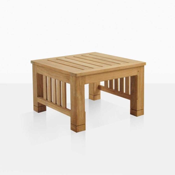 Raffles Square Teak Side Table