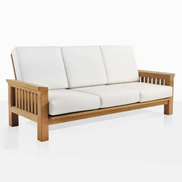 Raffles Teak Sofa With Cushions