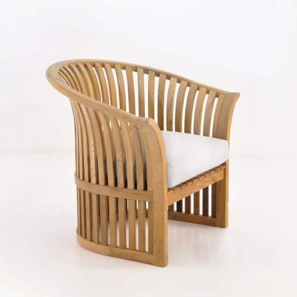 Satai Teak Outdoor Club Chair-0