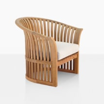 Satai Teak Garden Chair With Seat Cushion