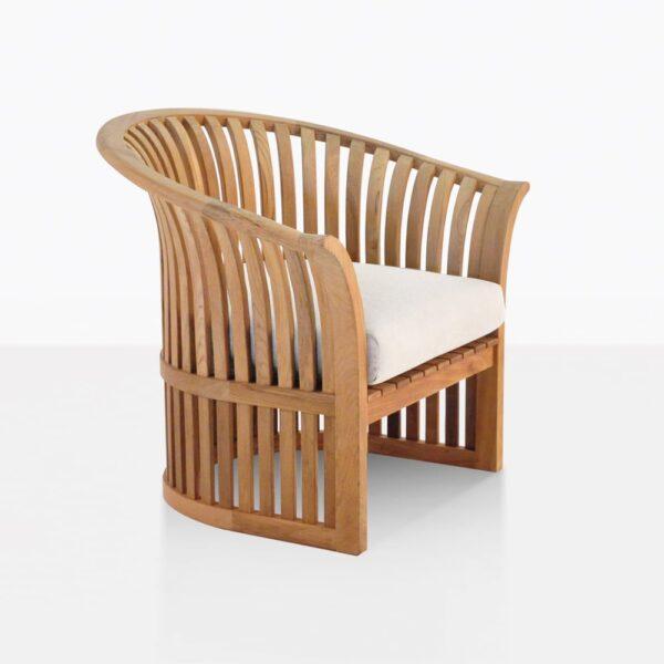 Satai Teak Garden Chair With Seat Cushion
