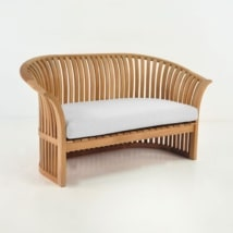 Satai Teak Outdoor Loveseat-0