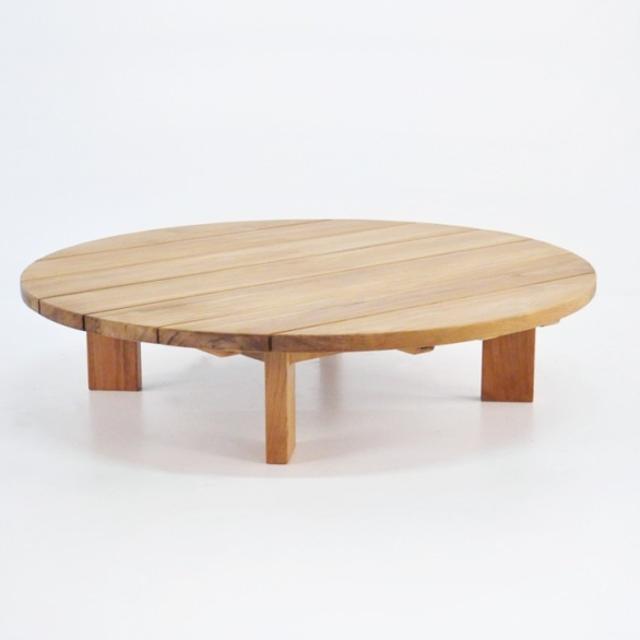 Soho Teak Outdoor Coffee Table (Round) 0 ...