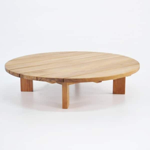 Patio furniture - Soho Teak Outdoor Coffee Table (Round)-0