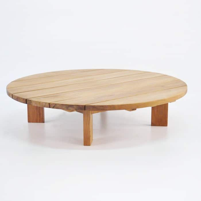 Soho Teak Outdoor Coffee Table Round Patio Furniture