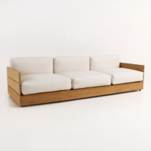 Soho Grande Teak Outdoor Sofa-0